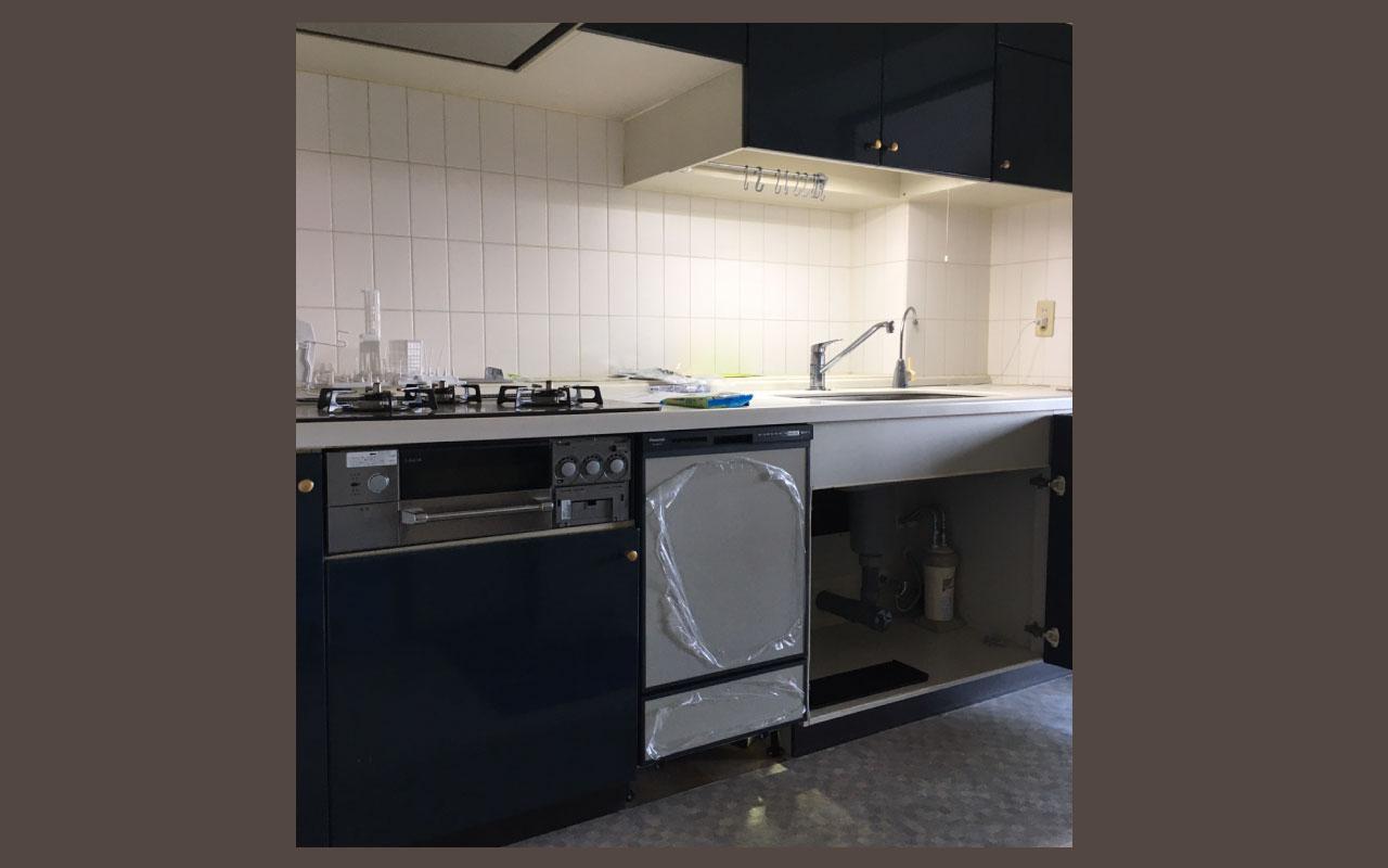キッチン食洗機導入