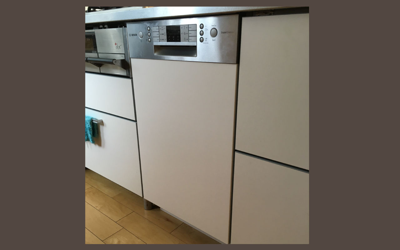 Y様邸_食洗機入れ替え_Bosch食洗機設置